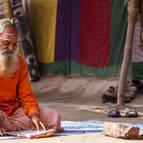 Sadhu Reading Sastra