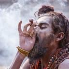 A Naga Indulges in Some Ganja