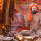 Naga in his Camp