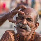 A Village Pilgrim Gets a Painful Shave