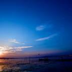 The Sangam at Twilight
