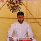 A Pandita Reading the Puranas