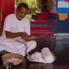 Syamananda Prabhu Preparing WIcks