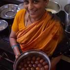 Prema-manjari Mataji and Her Famous Gulab-jamuns