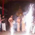 Fireworks During the Rathotsava