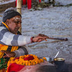 A Brahmana Performs a Homa