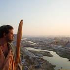 Giri Maharaja Overlooking the Mela Site