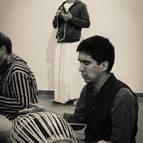 Ekanatha Prabhu Playing Mrdanga