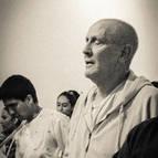 Guru Maharaja During Arati