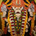 The Lord Decorated with Flower Alankara