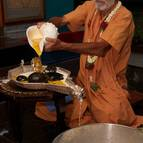 Visnu Maharaja Bathing the Salagramas