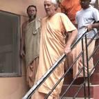 Guru Maharaja Inspecting the Asrama