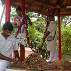 Decorating the Yajnasala