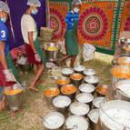 Prasadam Distribution