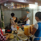 Devotees Cooking for the Festival