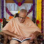 Guru Maharaja Reading the Book