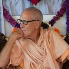 Guru Maharaja Listening to Offerings