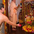 Puspanjali and Guru Puja