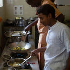 Kunja and Rupa cooking