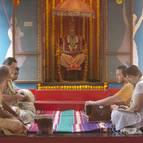 Class at the puspa-samadhi