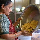 Prema Manjari Mataji cooking