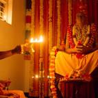 Evening Arati for Srila Prabhupada