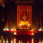 Prabhupada in the puspa-samadhi