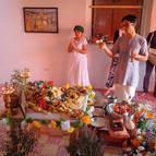 Daruka offering arati