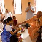 Jovita becomes Hladini-sakti Dasi