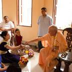 Daniella becomes Devaki Devi Dasi