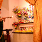 Krsna-Kirtana offering arati