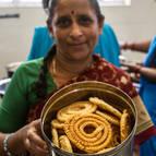 Prema Manjari cooking chakli