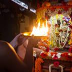Arati to Mahaprabhu on His ratha