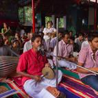 Kunja-vihari leading bhajans