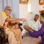 Bhakta Rahul becomes Radha-Govinda Dasa