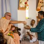 Bhakta Vishal becomes Visvarupa Dasa