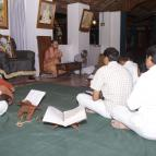 Giri Maharaja giving class on the glories of Sri Nityananda