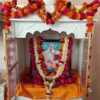 Pushpa Samadhi of Srila Guru Maharaja at Sri Sri Radha Damodara Mandir - Photo