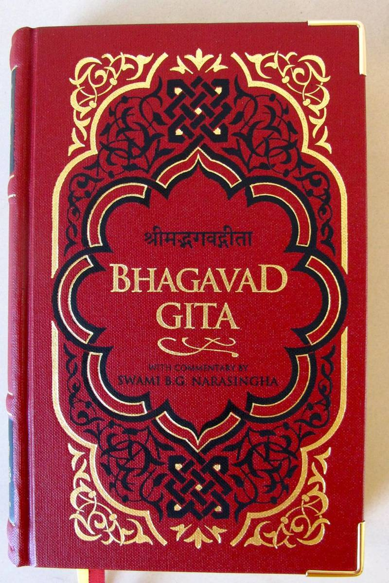 the bhagavad gita The bhagavad gita has influenced great americans from thoreau to oppenheimer its message of letting go of the fruits of one's actions is just as relevant today as it was two millennia ago.