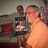 Guru Maharaja with Vyasa Puja Book