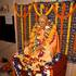 Srila Prabhupada on his Veranda
