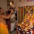 Kanika Prasada Goswami Offering Guru Puja