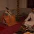 Salagrama Sila Waiting for His bride, Tulasi-devi