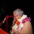 Srila Guru Maharaja Accepting Garlands from Devotees