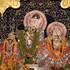 The Deities at Sri Sri Radha-Damodara Temple