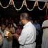Caitanya Dasa Taking the Arati Lamp Around