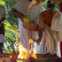 Purna-ahuti, or final oblation