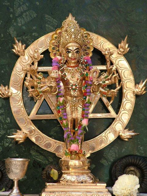Sudarsana Deity