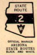 Arizona Highway Marker