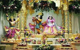 Gaura-Radha-Radhanatha at Iskcon Durban South Africa